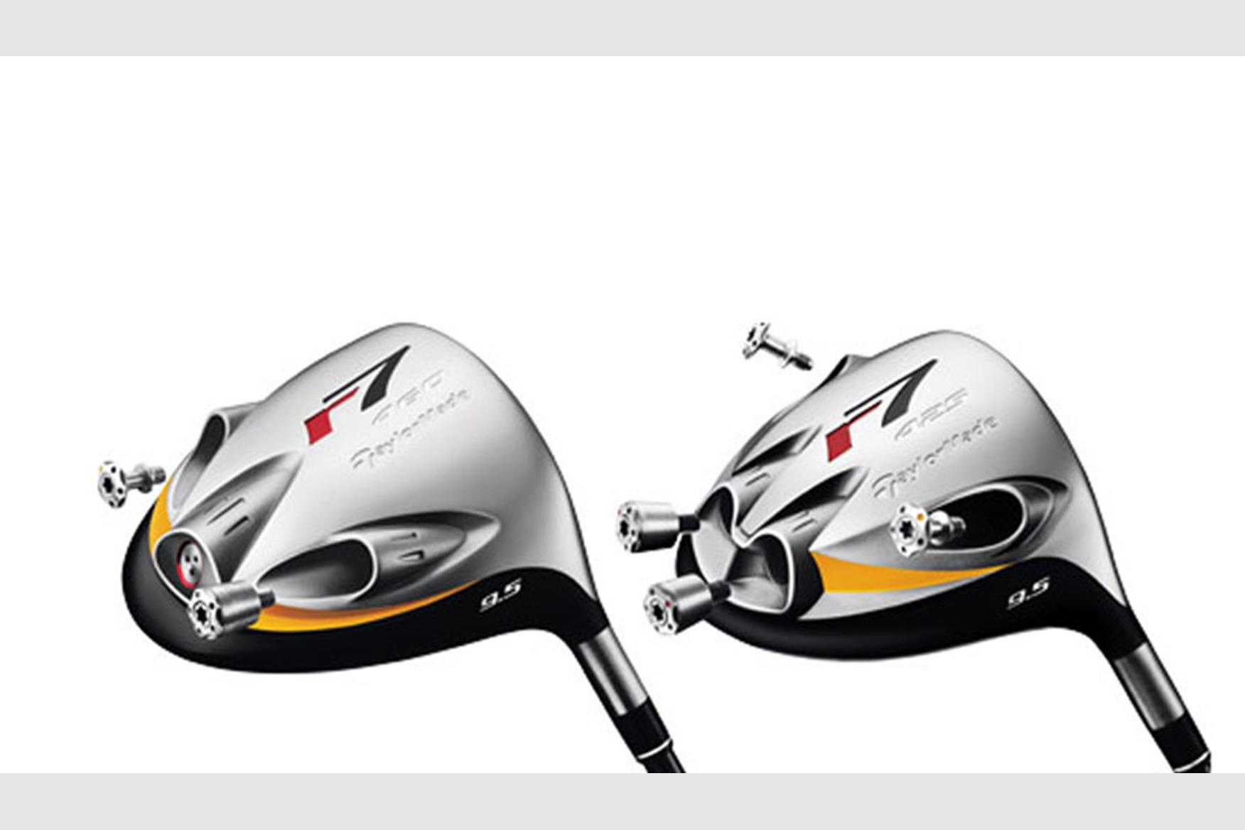 Taylormade golf drivers priority designs.