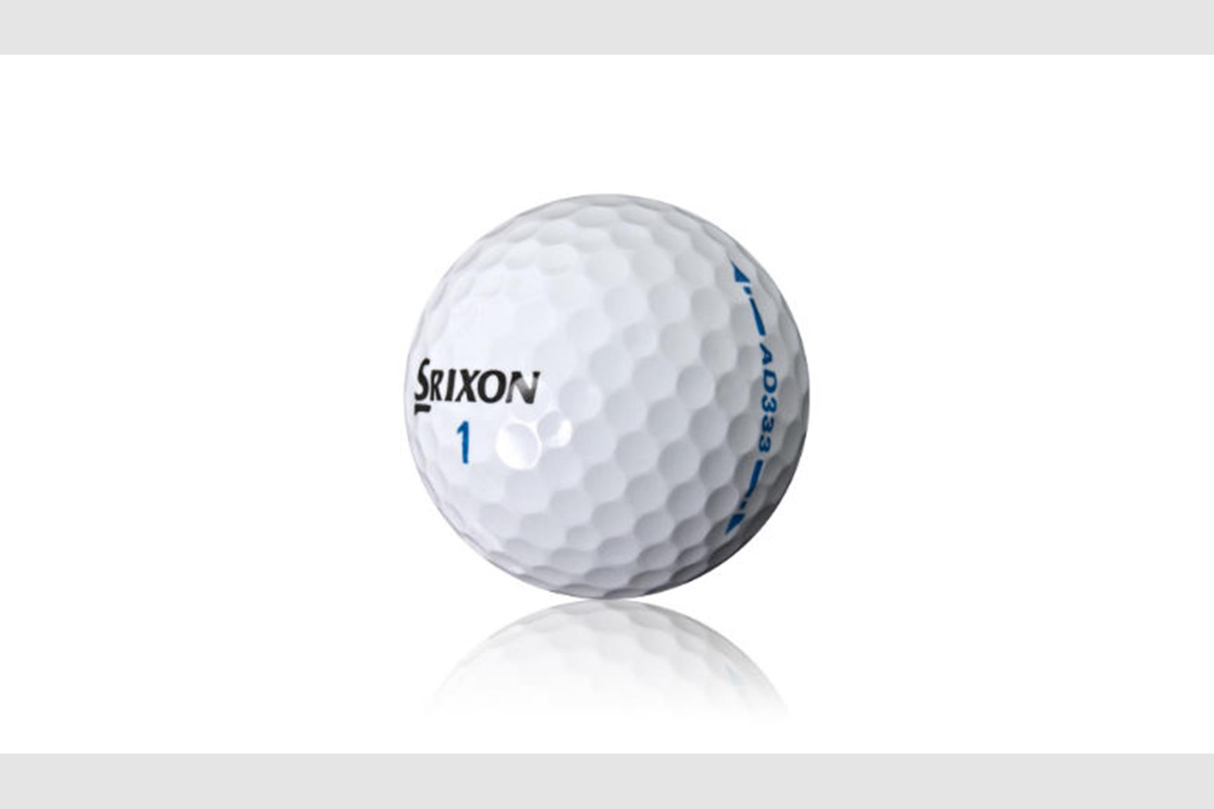 srixon ad333 golf balls review equipment reviews today u0027s golfer