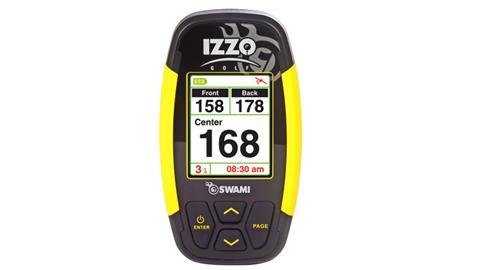 Izzo swami 3000 golf gps unit kit manual & user guide.