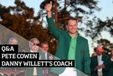 Exclusive interview with Danny Willett's coach