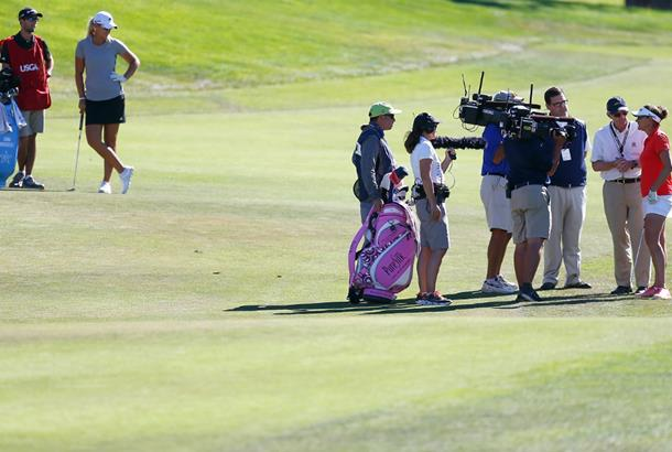 U.S. Women's Open: Three-way tie for lead at CordeValle