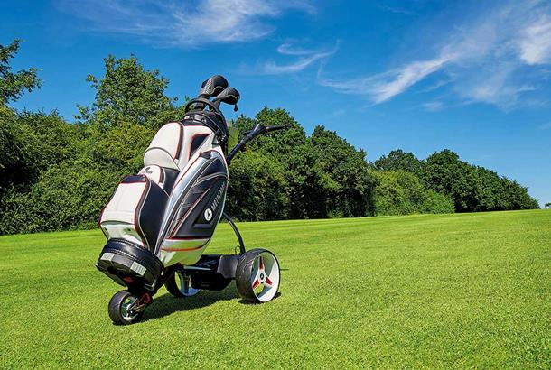 Motocaddy unveil new trolley