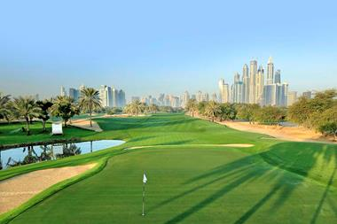11 golf courses you have to play in Dubai