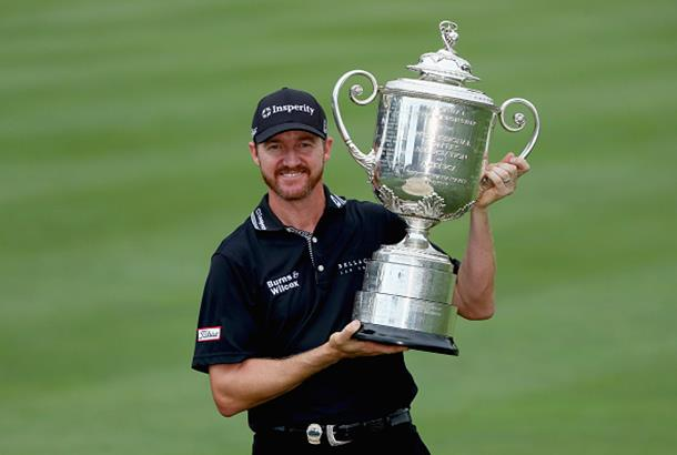 Newly-crowned PGA champion Jimmy Walker draws praise from rivals