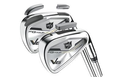 Wilson Staff reveal new FG Tour V6 irons