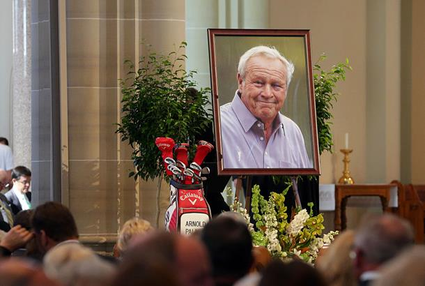 Jack Nicklaus eulogizes Arnold Palmer as 'king of our sport'