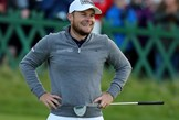 Tyrrell Hatton and his Ping Vault Oslo putter which he used to win the Dunhill Links