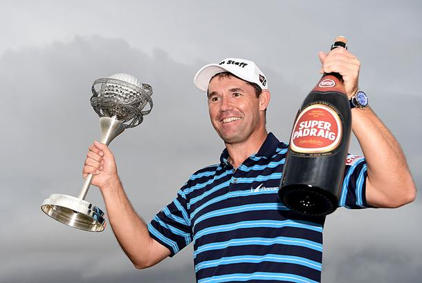 Harrington back to winning ways with new Wilson Staff V6 irons