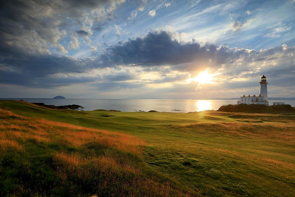 is home to two 18-hole courses and one 9-hole course. The Ailsa course ...
