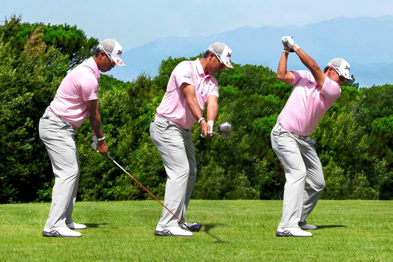 Hideki Matsuyama swing 1