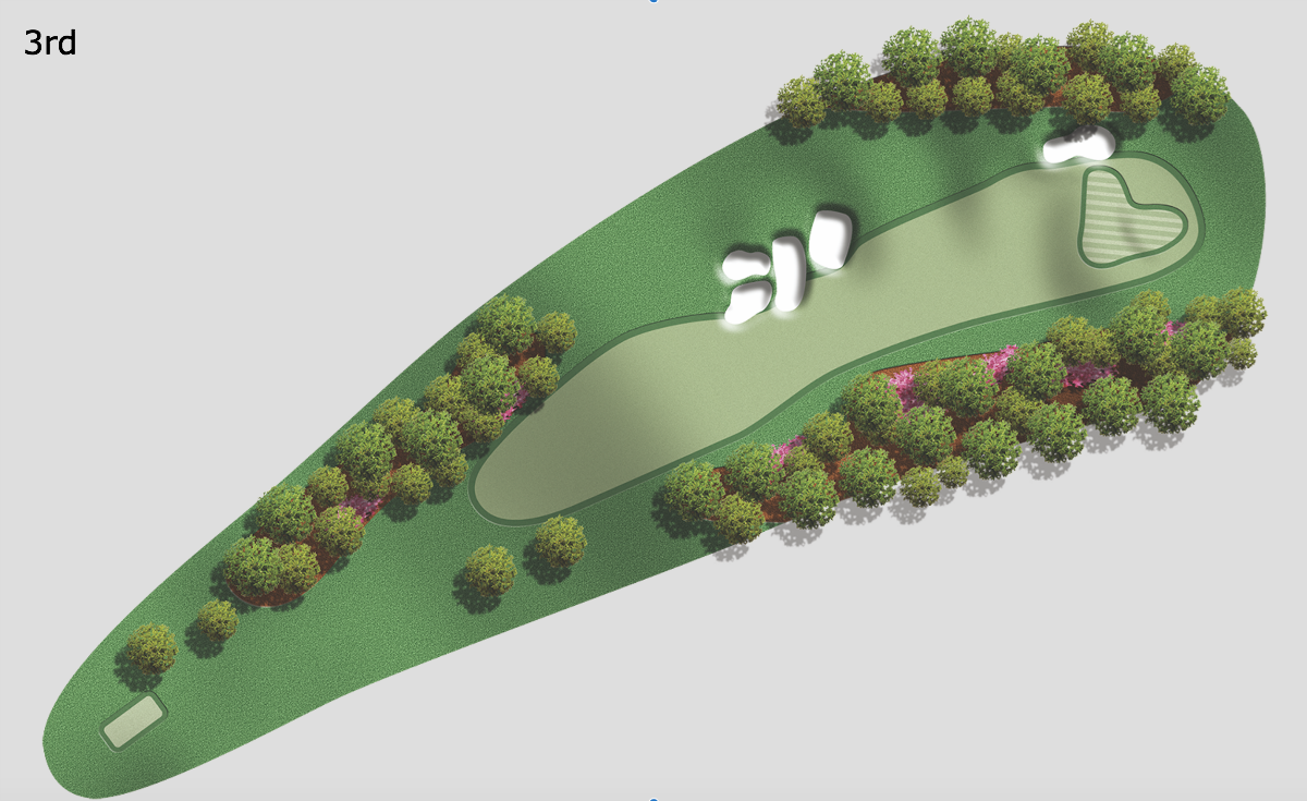 3rd hole at Augusta National