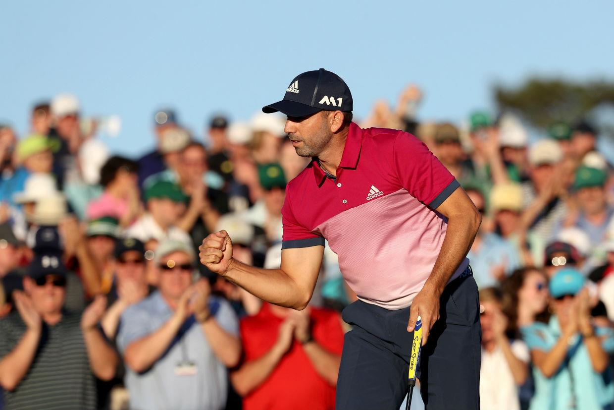 Sergio Garcia has a chance to win the Masters