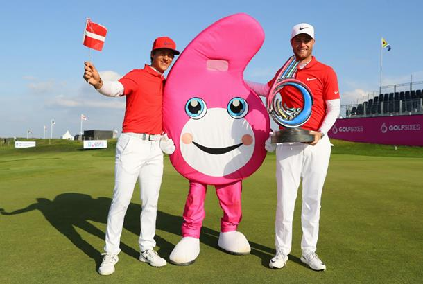 Denmark wins inaugural GolfSixes tournament
