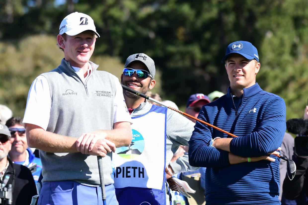 Snedeker and Spieth