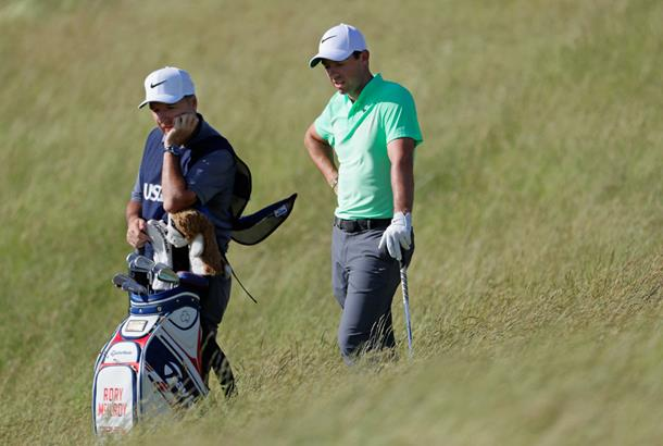Missed fairways leave McIlroy in rough shape at US Open