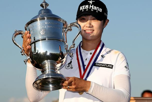 Sung Hyun Park rallies from three shots back, wins US Women's Open