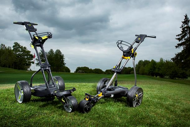 Which compact trolley test: Motocaddy M1 Pro DHC v PowaKaddy