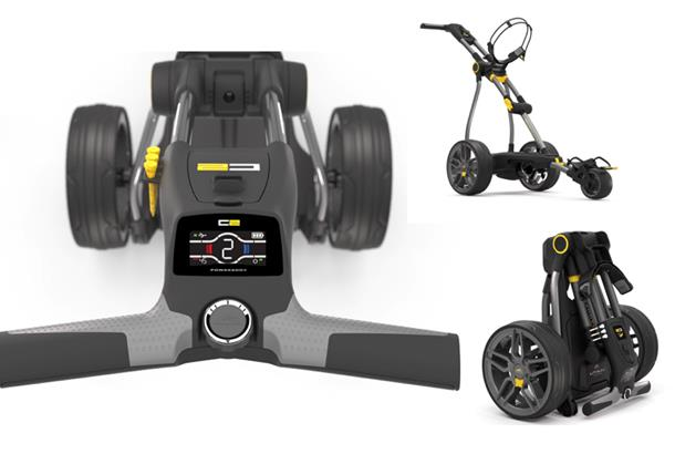 Which compact trolley test: Motocaddy M1 Pro DHC v PowaKaddy Compact