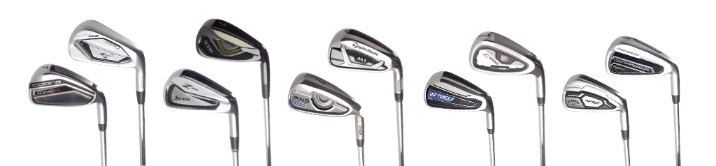 Game improvement irons lineup