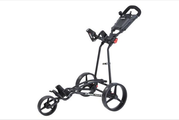 Big Max Autofold Golftrolley.Big Max Ti 1000 Autofold Plus 3 Trolley Review Equipment