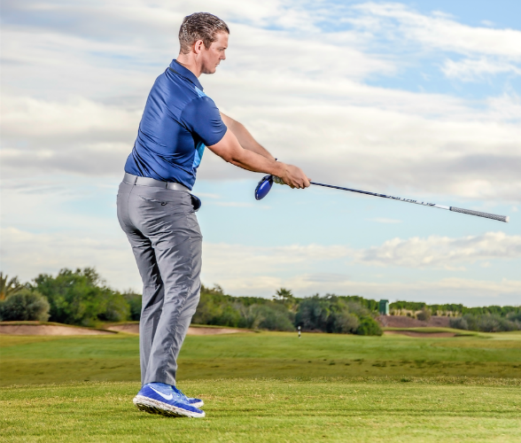 How to train speed in your swing