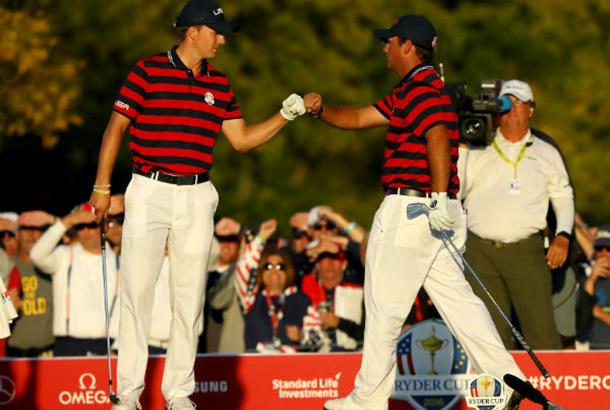 Internationals battling at Presidents Cup
