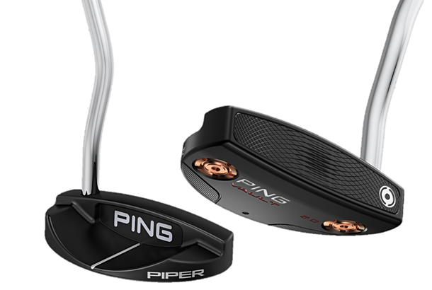Ping Redwood Piper S putter | GolfMagic