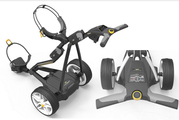 Powakaddy unveil new 2018 freeway electric trolley range