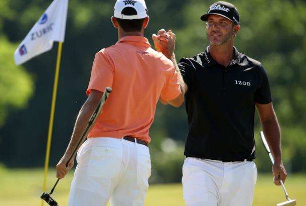 Michael Kim and Andrew Putnam lead PGA's Zurich Classic team event