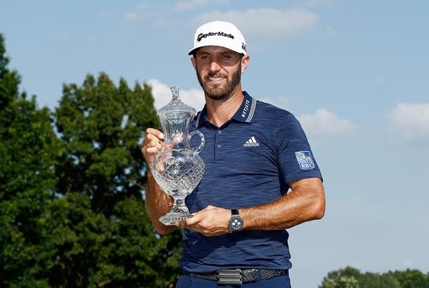 Dustin Johnson shoots 7-under 63 to grab lead at St. Jude