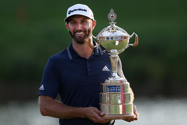 Johnson in control as storms halt Canadian Open