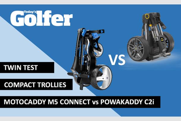 TWIN TEST: Motocaddy S5 Connect vs Powakaddy C2i compact