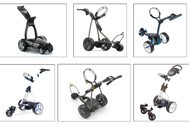 Top 10 Electric Trolleys | Today's Golfer