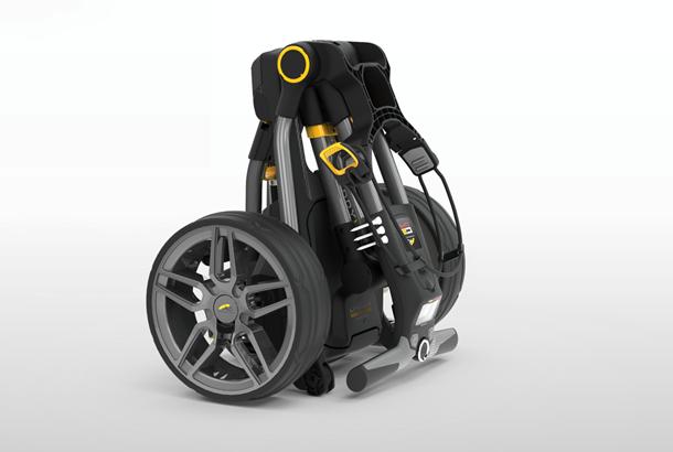 PowaKaddy reveal Compact C2i GPS golf trolley | Today's Golfer