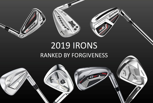 2018 irons ranked by forgiveness