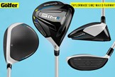 The TaylorMade SIM2 Max D fairway wood.
