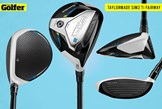 The TaylorMade SIM2 Ti fairway wood.