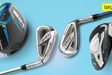TaylorMade's new SIM2 range of golf clubs.