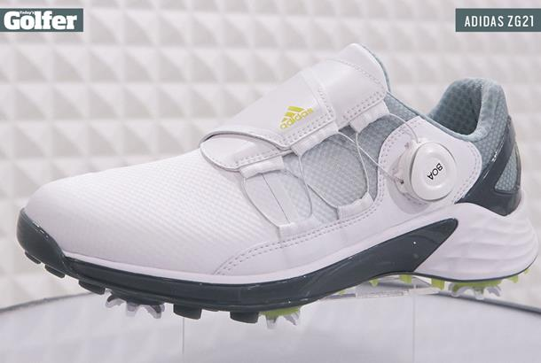 adidas ZG21 shoe is a 'new era in lightweight golf footwear ...
