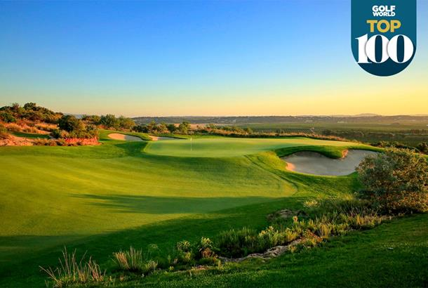 The Faldo course at Amendoeira is one of the best golf courses in Portugal.