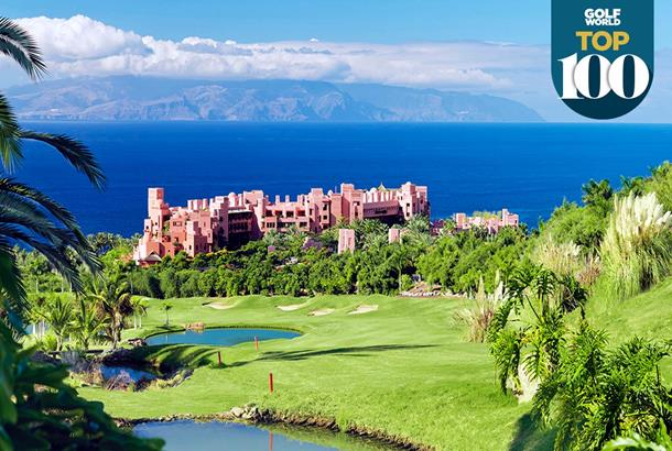 Abama is one of the best golf resorts in continental Europe.