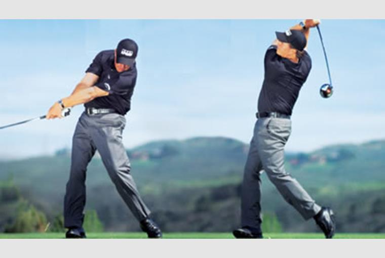 Phil Mickelson Swing Sequence Golf Tip Today S Golfer