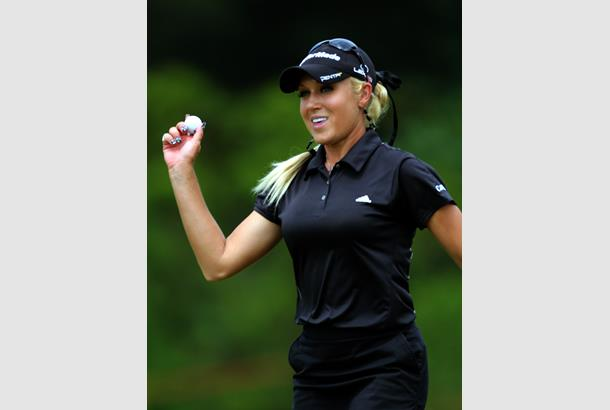 Is dustin johnson dating natalie gulbis