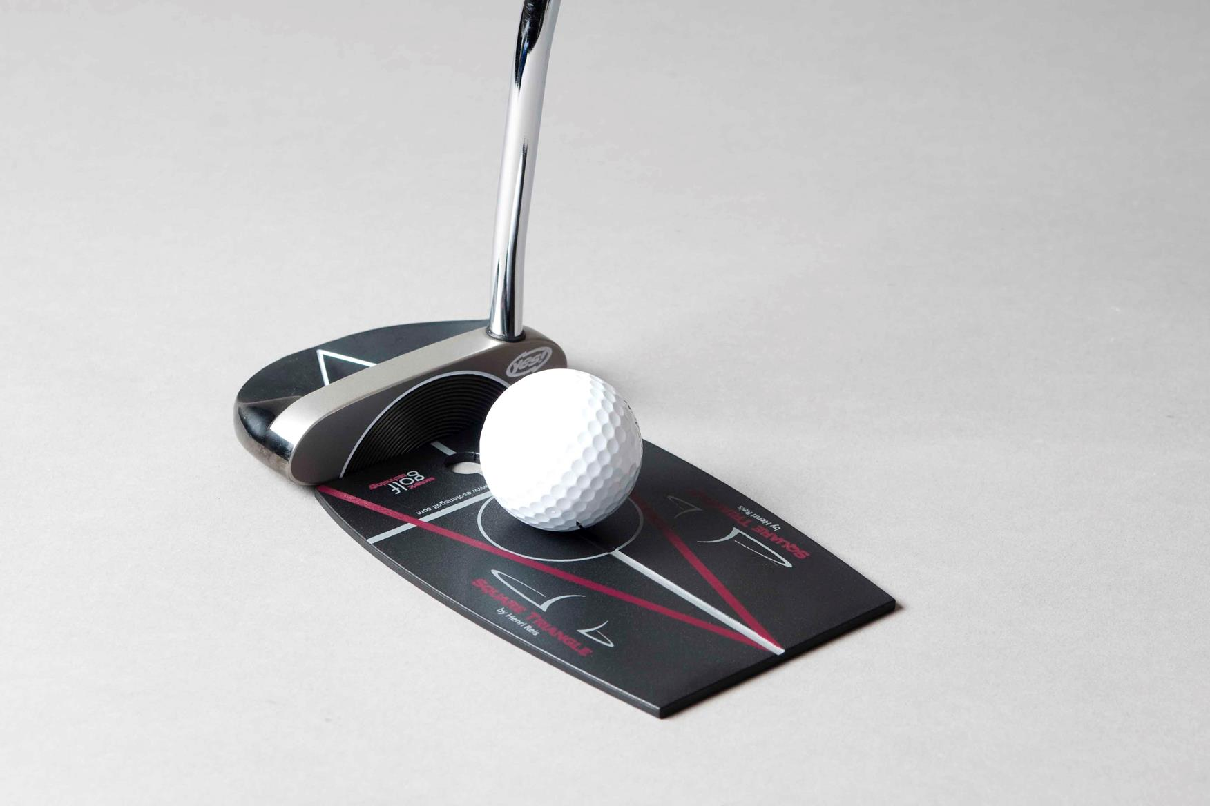 yes golf square triangle training aid review equipment reviews today 39 s golfer. Black Bedroom Furniture Sets. Home Design Ideas